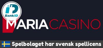 Maria casino logo bankid